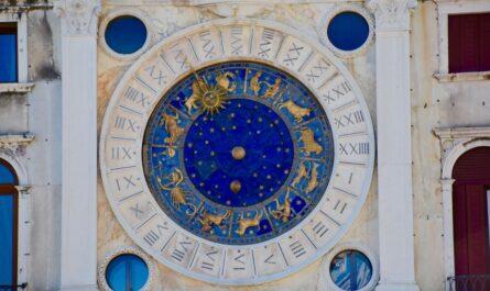 Zobrazený horoskop, který také souvisí s módou.