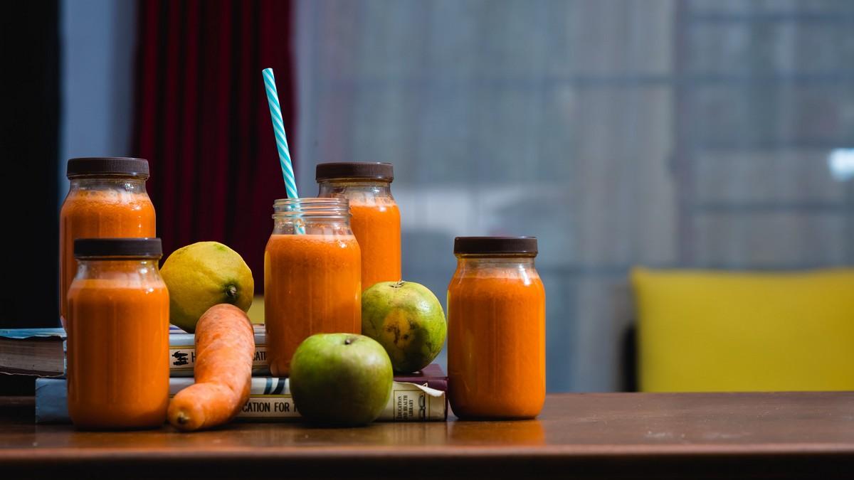 Ovoce a zelenina, které zpracují letní spotřebiče.