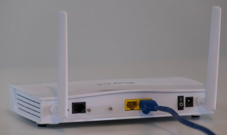 Router, který spadá mezi síťové prvky.